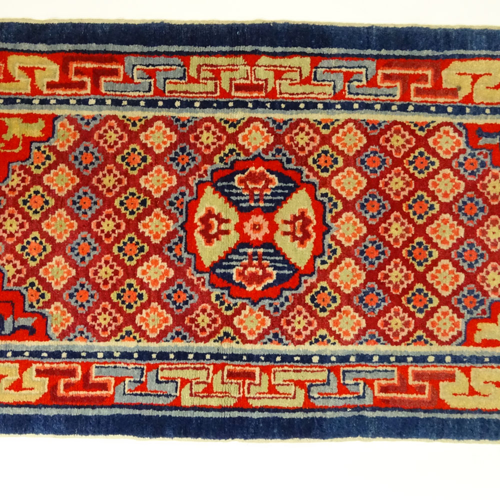 Early 20th Century Chinese Wool Rug,