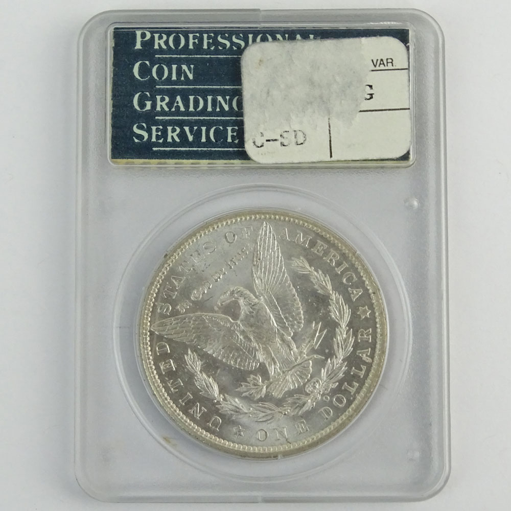 1884-O Morgan Silver Dollar MS64 PCGS 07292.64/1114933.