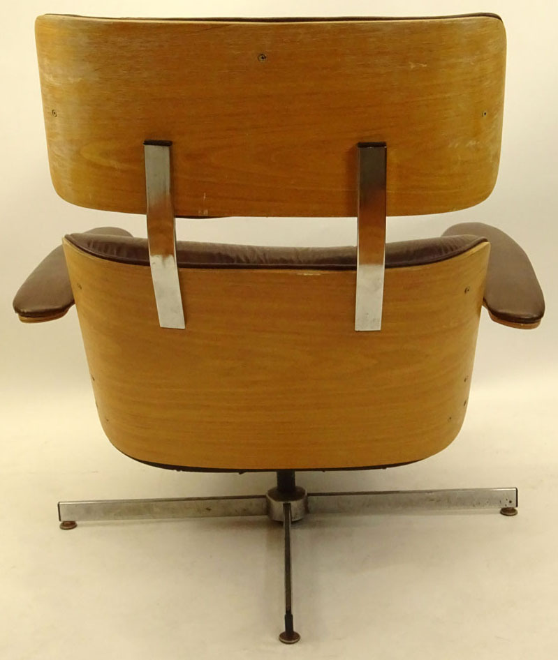 Mid Century Modern Plycraft Eames Style Recliner With Built-in Footrest. & Mid Century Modern Plycraft Eames Style Recliner With Built-in ... islam-shia.org