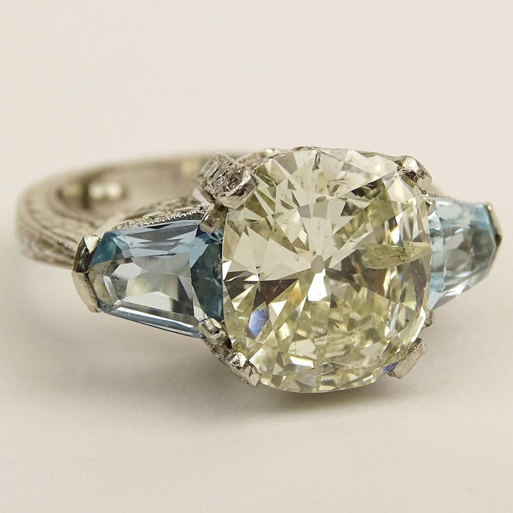 David S Diamonds 4 25 Carat Round Brilliant Cut Diamond And