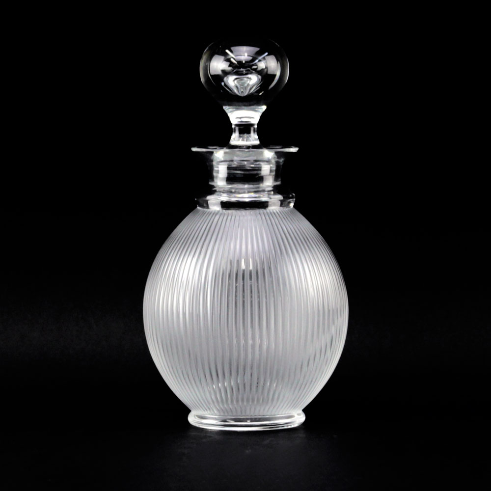 Lalique France Frosted and Clear Crystal