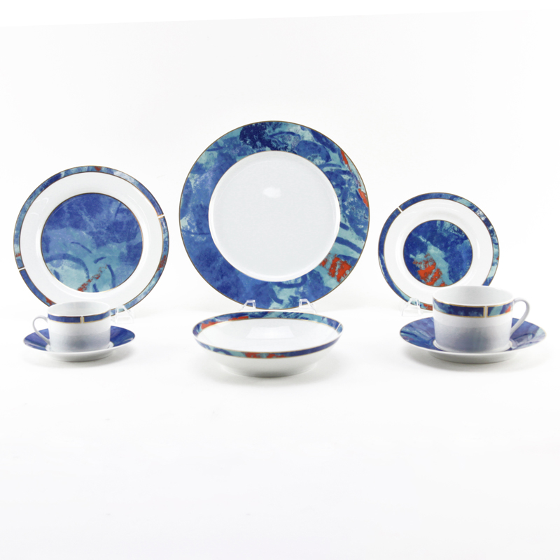 One Hundred Sixteen (116) Piece Christofle \ Alizes\  Dinnerware ...  sc 1 st  Kodner Auctions & One Hundred Sixteen (116) Piece Christofle \