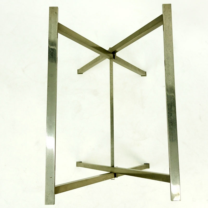 """Saw Horse"" Style Metal Folding Table Base"