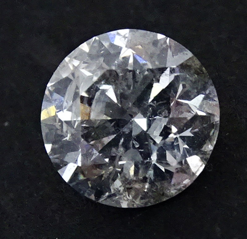 1.42 Carat Round Brilliant Cut Diamond