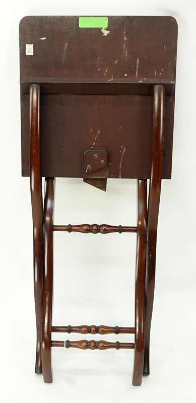 Antique Mahogany Coaching Table.