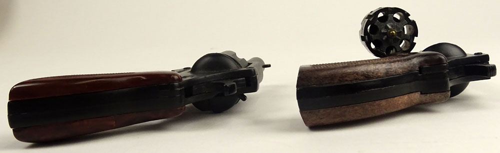 Two Mid 20th Century Italian Starter's Guns. Signed Made in Italy.