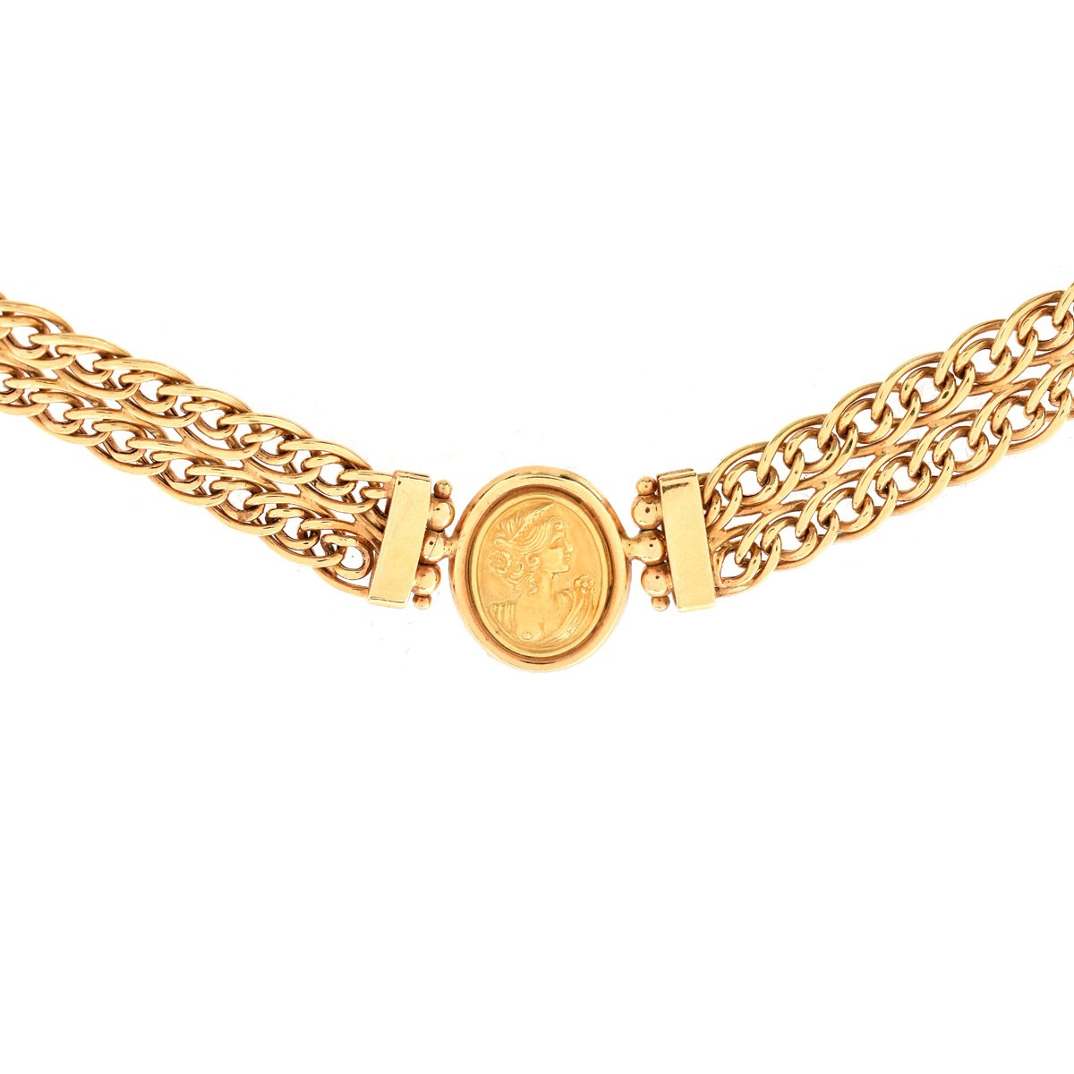 Vintage Italian 18K Gold Necklace