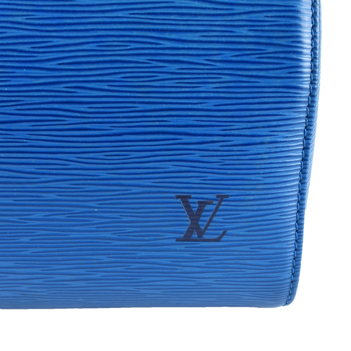 Louis Vuitton Blue Epi Leather Speedy 25 Bag