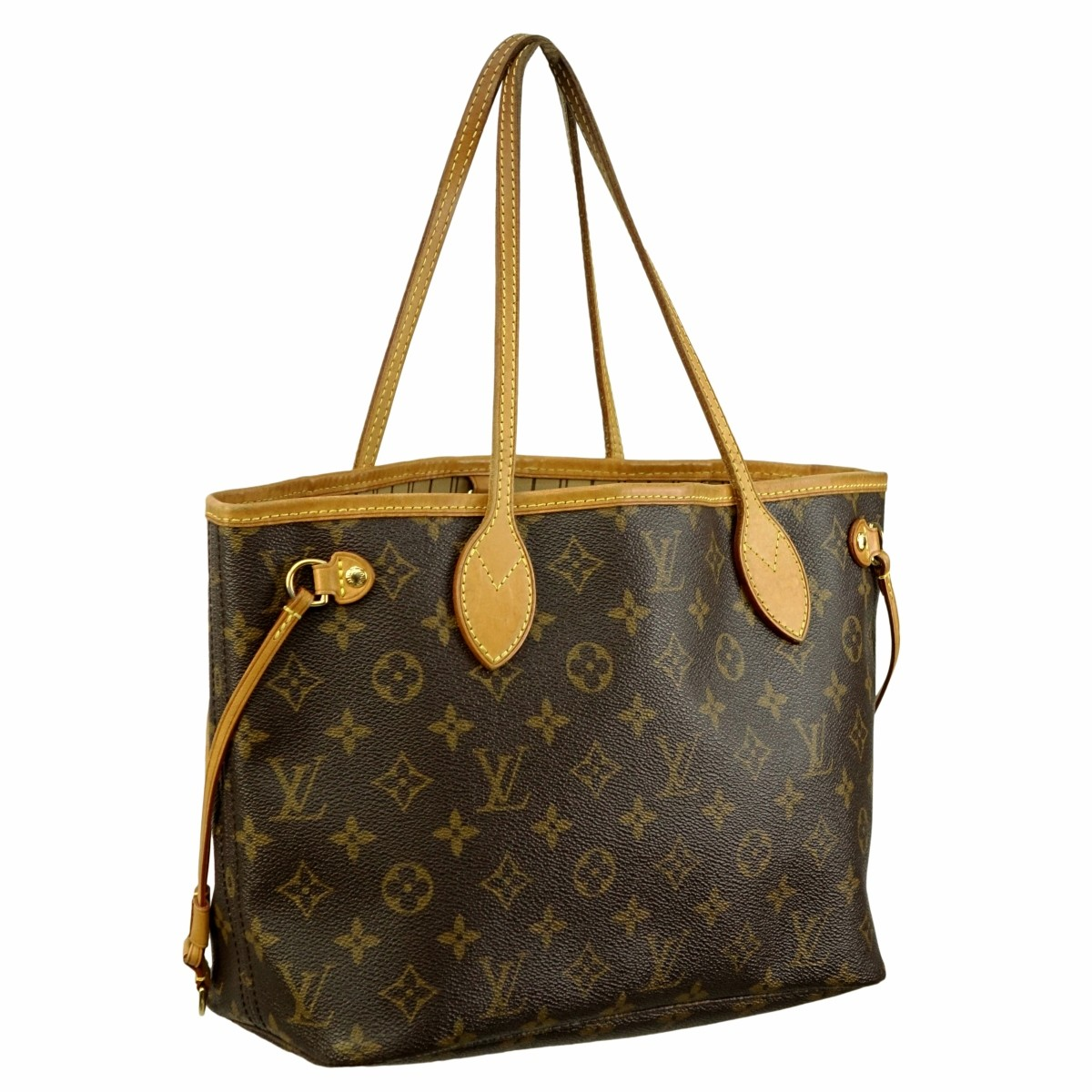 Louis Vuitton Brown Monogram Canvas Neverful PM