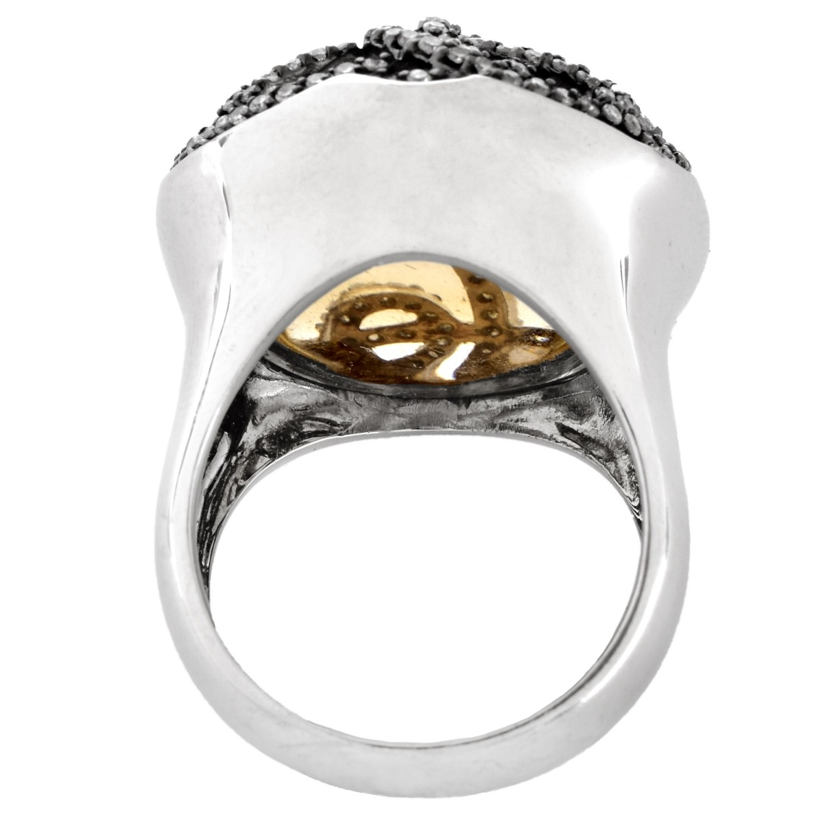 Nicole Miller Diamond and 14K Gold Ring