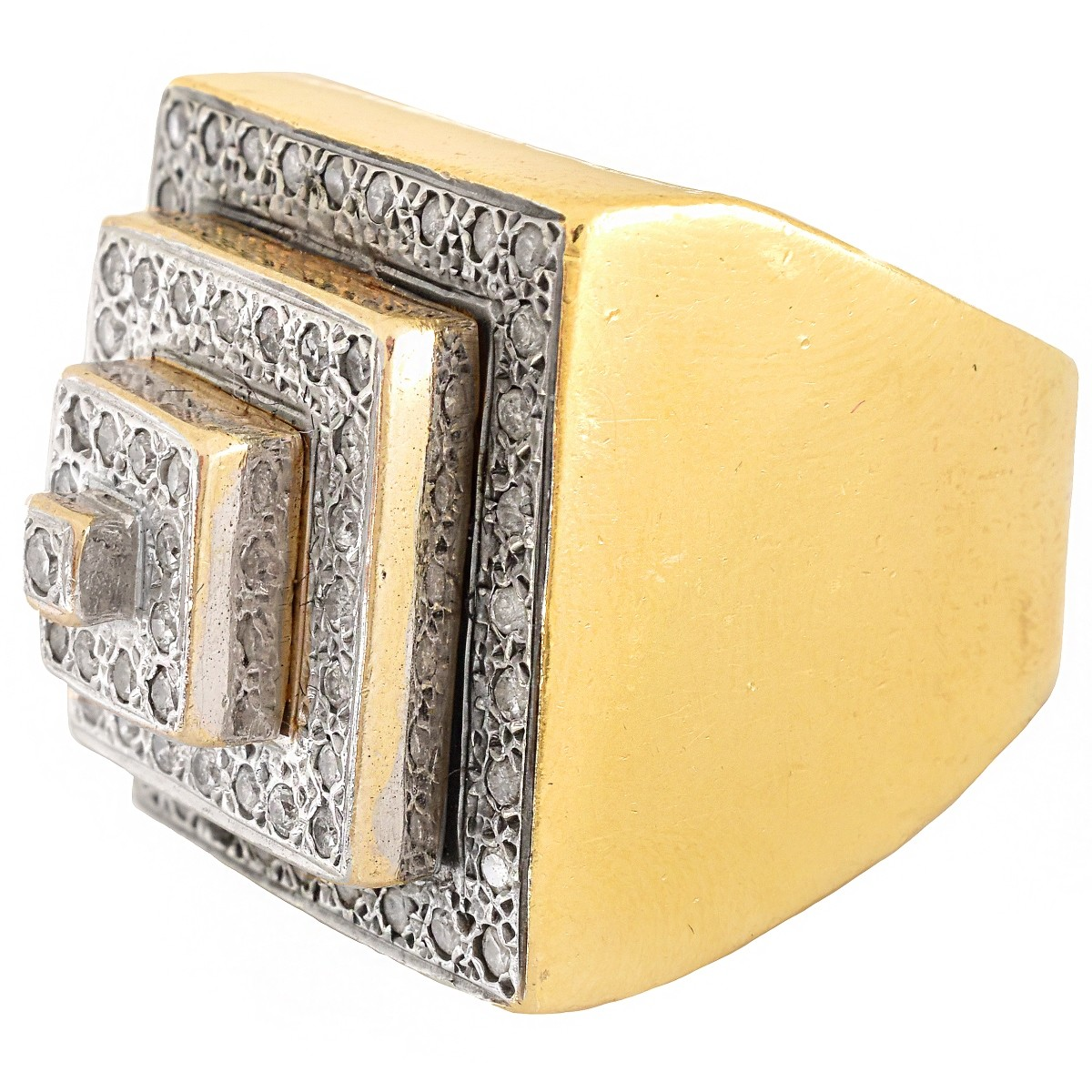 Vintage Diamond and 14K Gold Ring