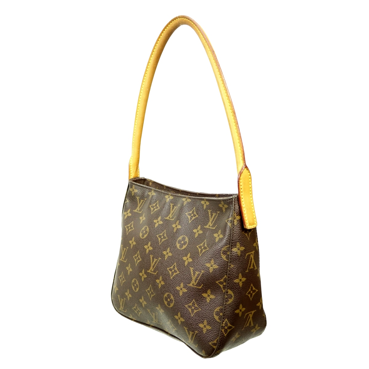 Louis Vuitton Brown Canvas Monogram Looping MM