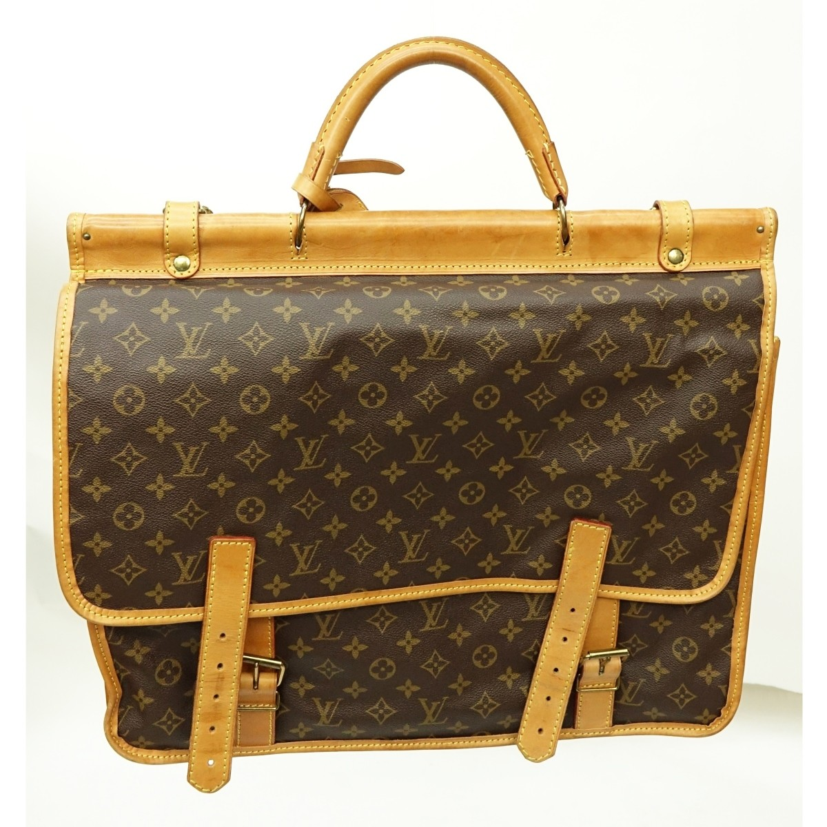 Louis Vuitton Brown Monogram Canvas Sac Kleber