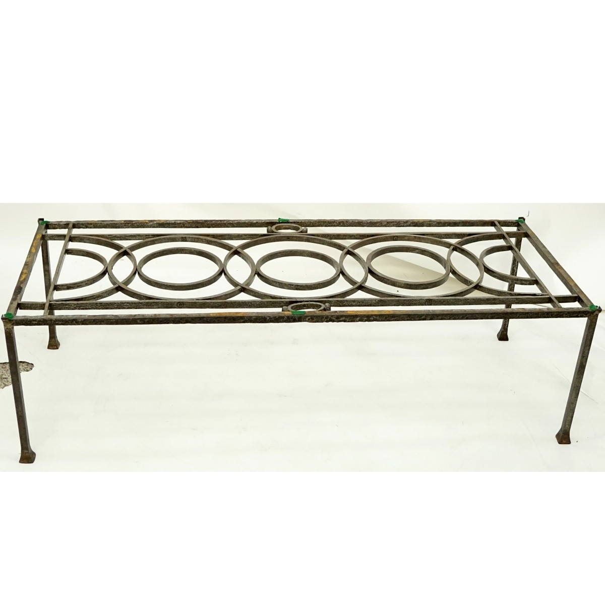 Mid Century Wrought Iron Coffee Table