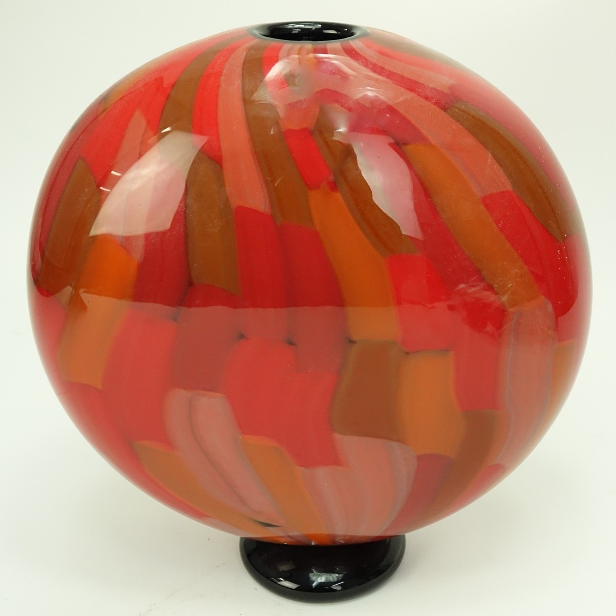 Murano Seguso Art Glass Vase