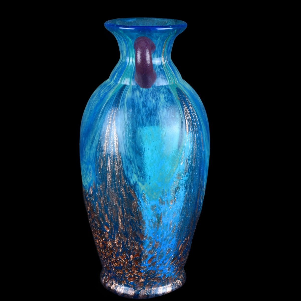 Three (3) Contemporary Art Glass Vases