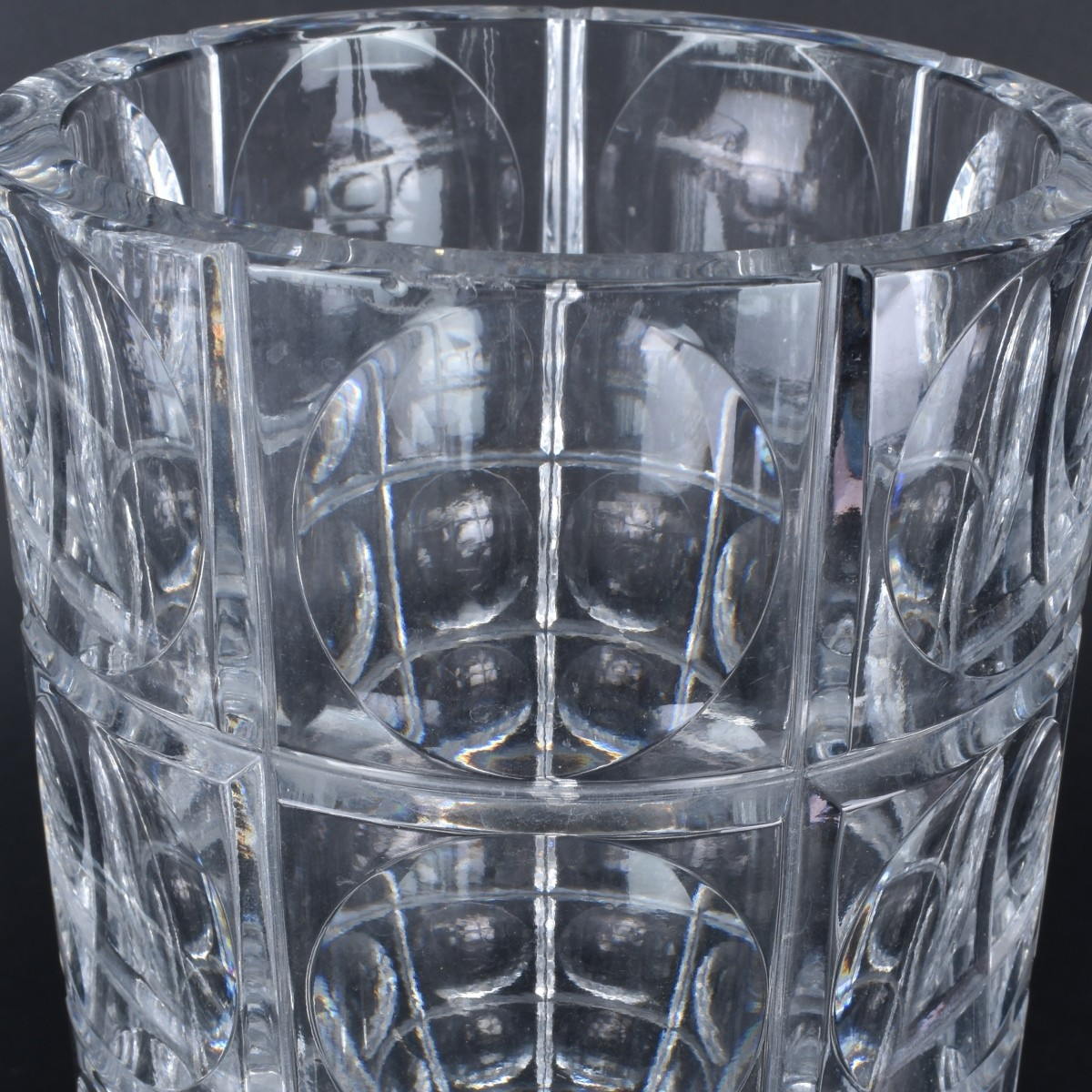 Collection Of 3 Designer Crystal Table Top Items