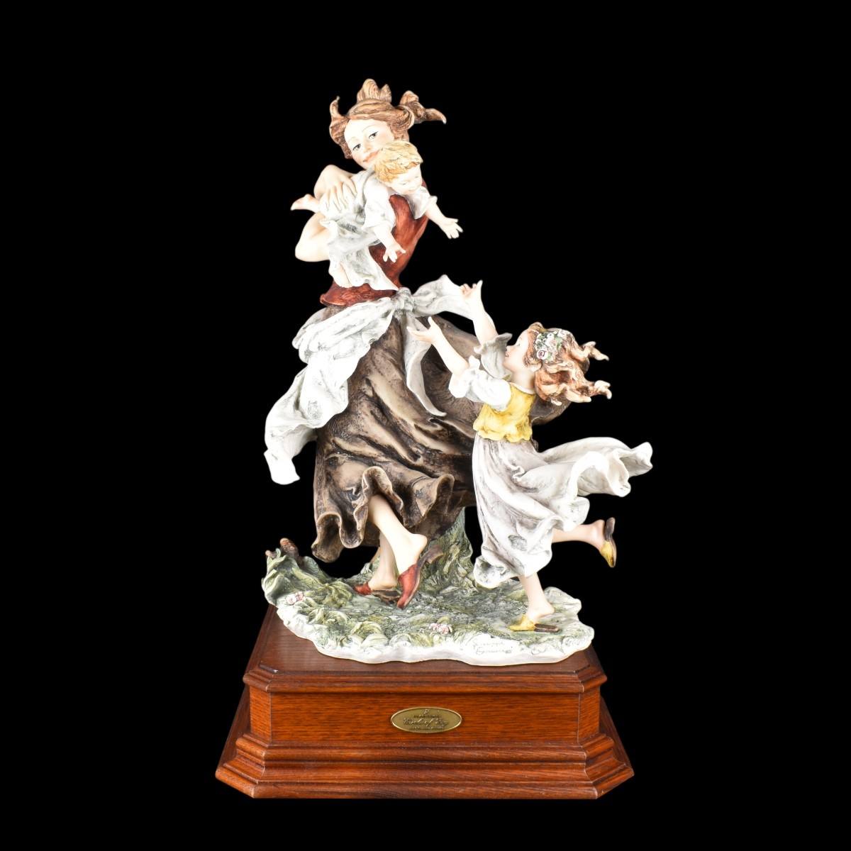 "Giuseppe Armani ""Circle of Joy"" Porcelain Figurine"