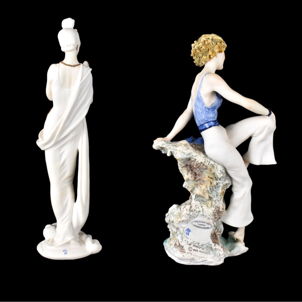 Two (2) Giuseppe Armani Figurines