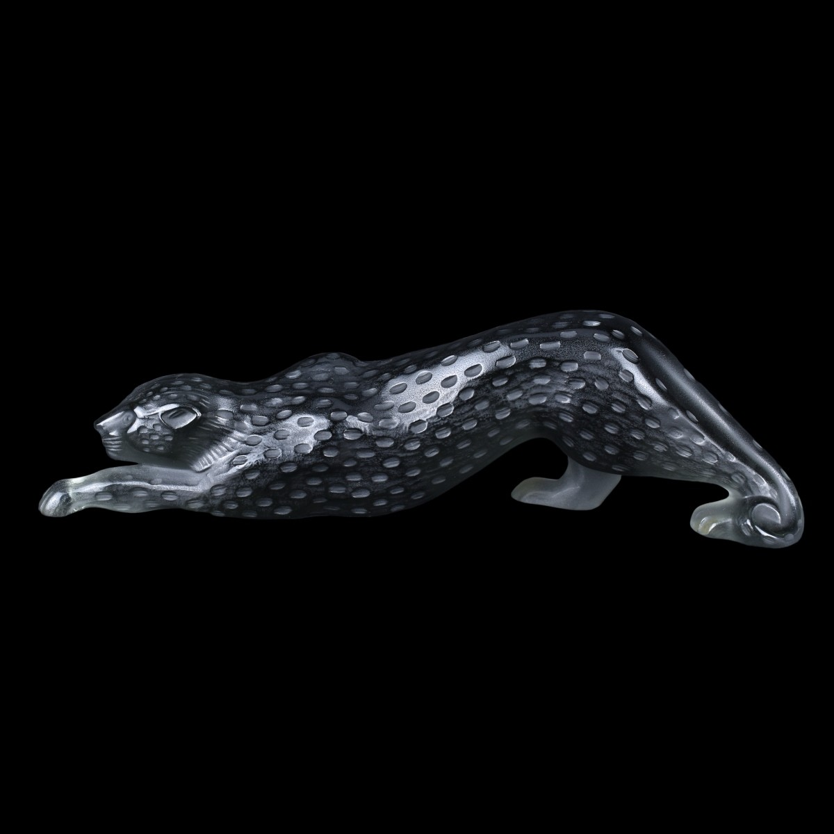 "Lalique ""Zeila Panther, Black"" Crystal Figurine"