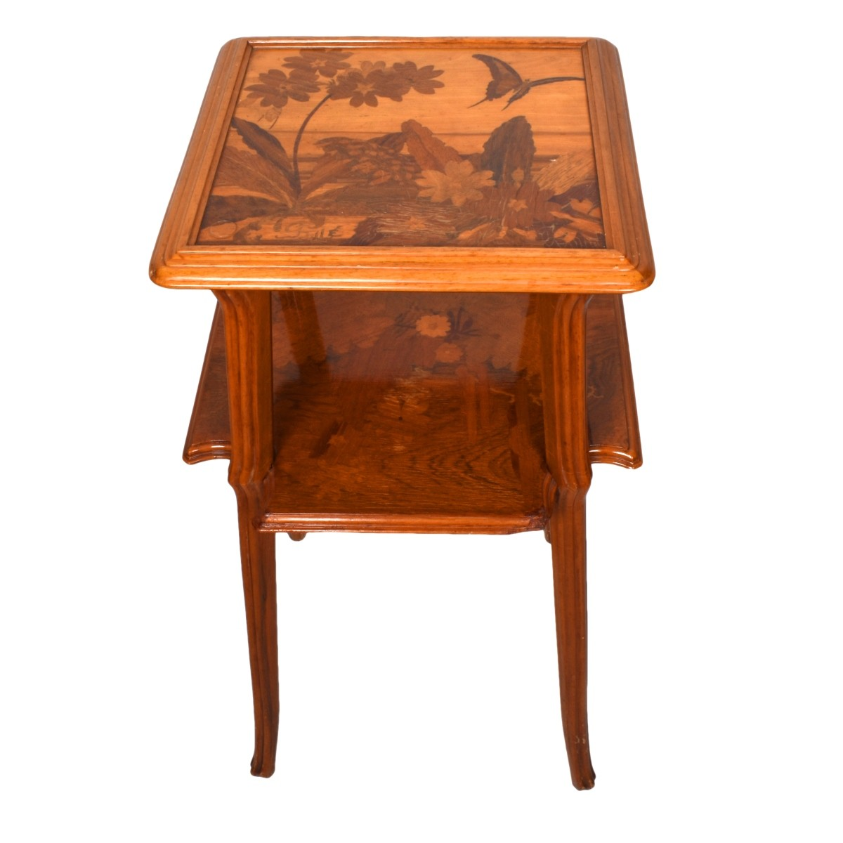 Emile Galle, French (1846-1904) Side Table