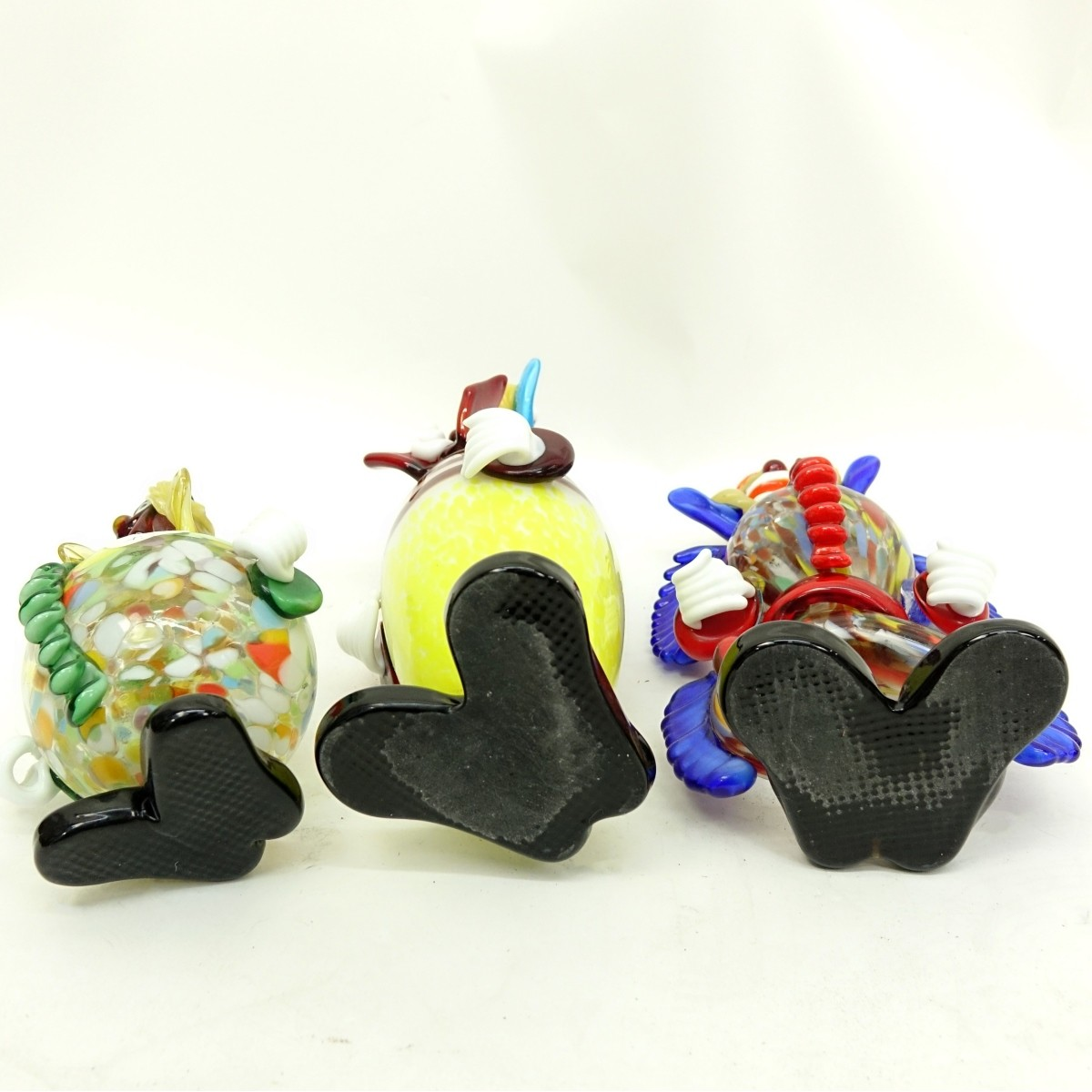 Mid Century Murano Art Glass Clown Figurines