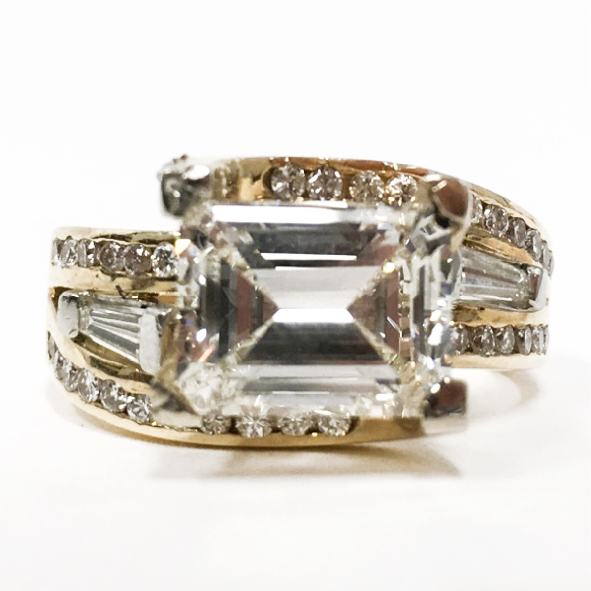Diamond & 14K Gold Ring