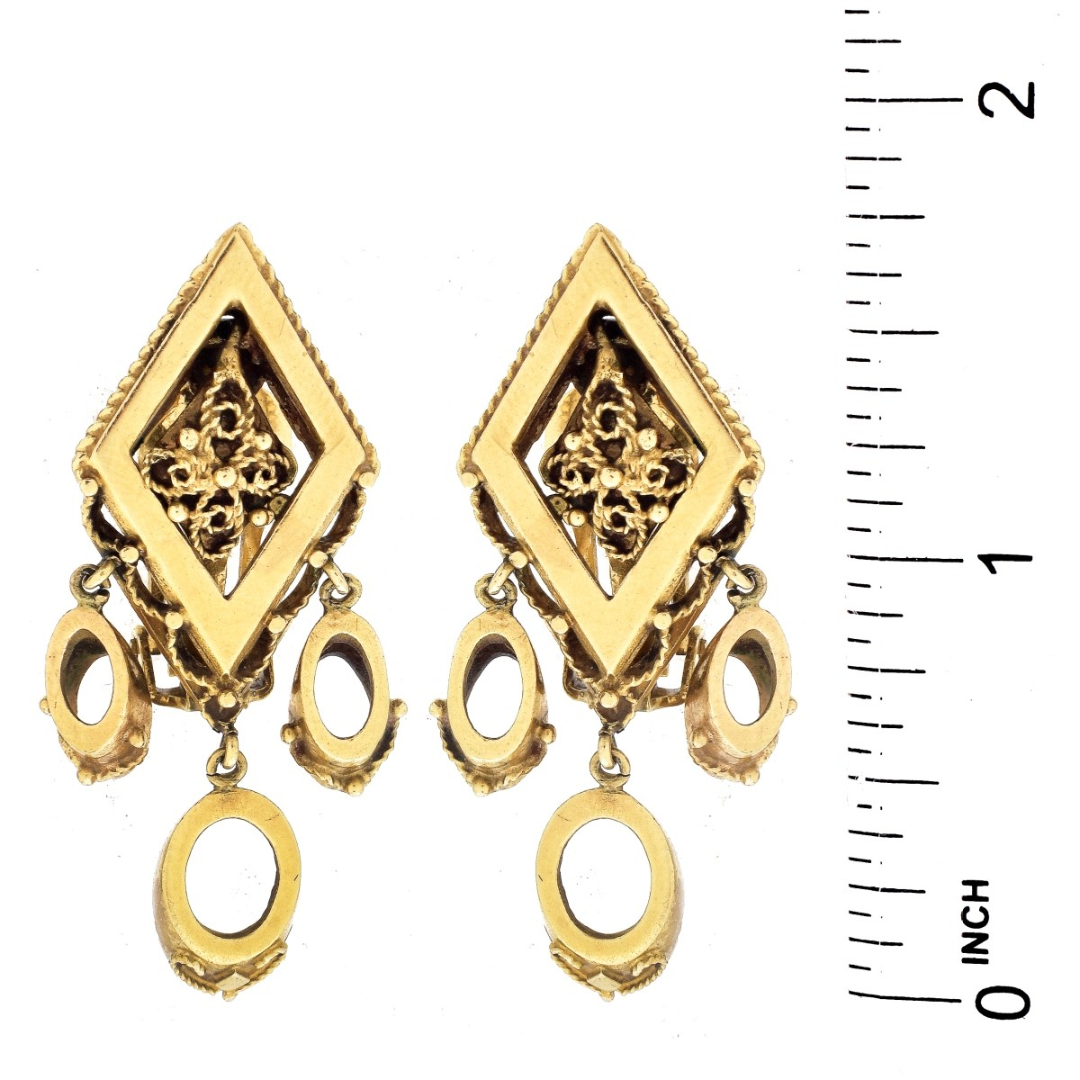 Vintage 14K Gold Earrings