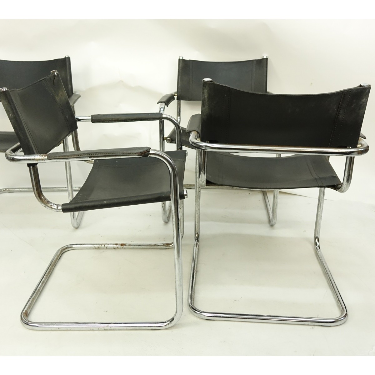4 Marcel Breuer style Chairs