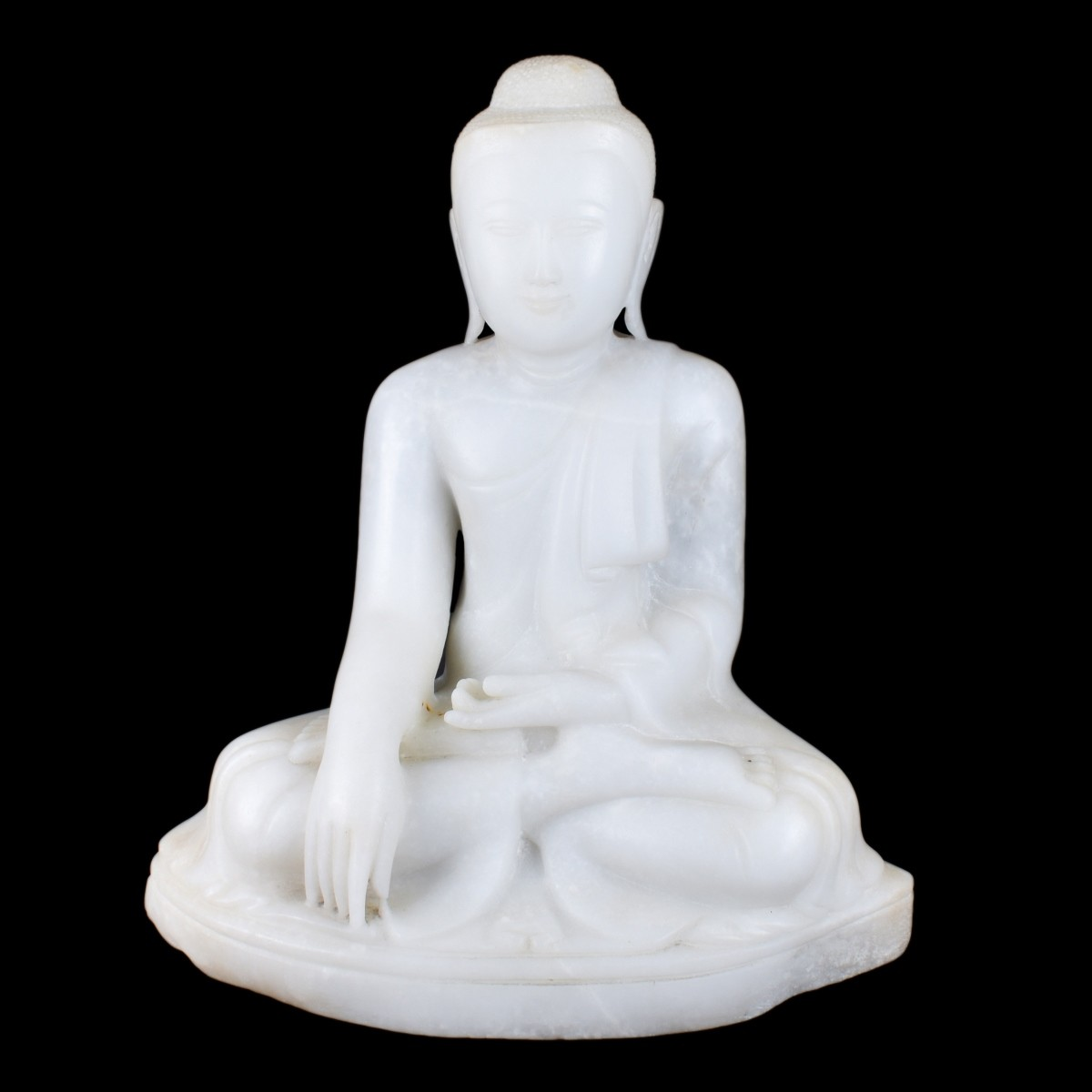 Carved Marble Buddha