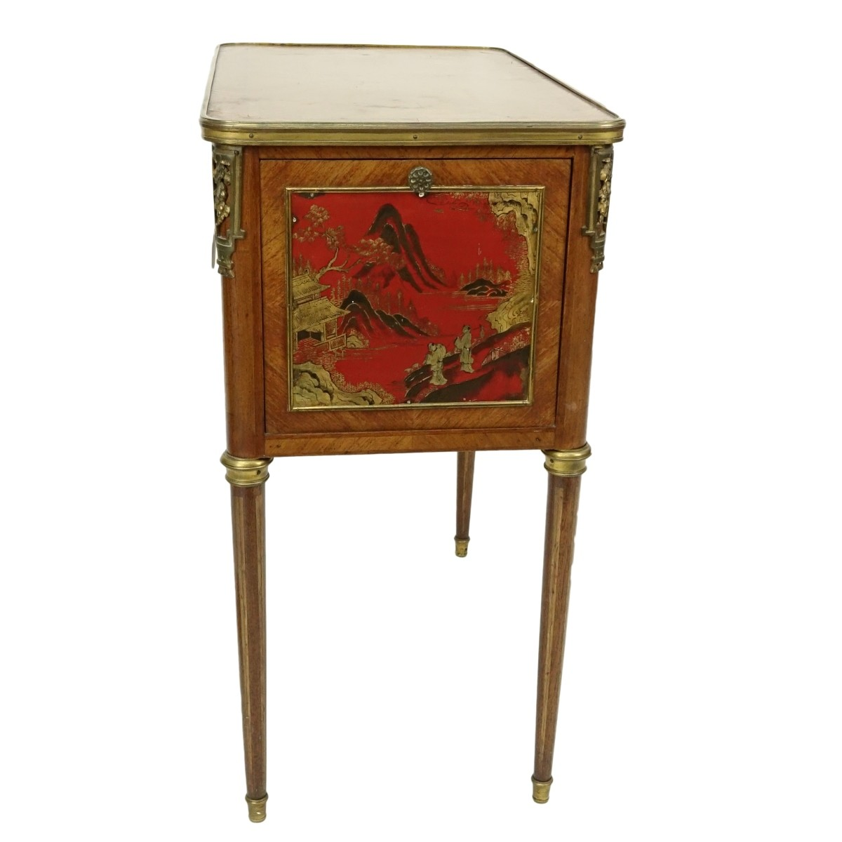 French Inlaid Cabinet