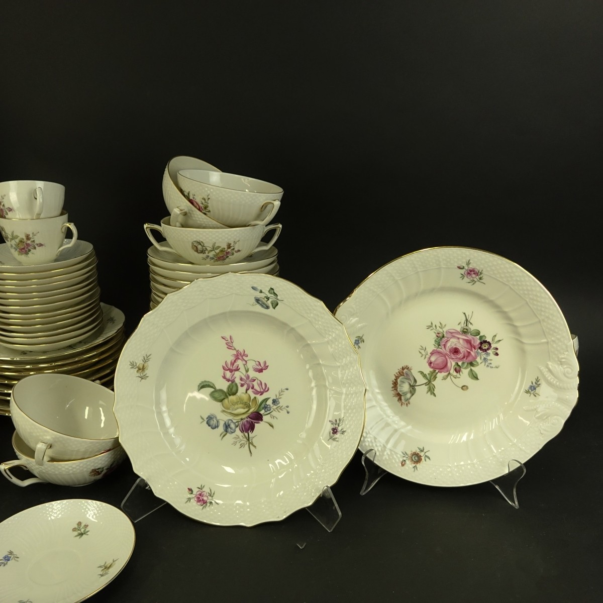 (134) Piece Royal Copenhagen Dinner Service