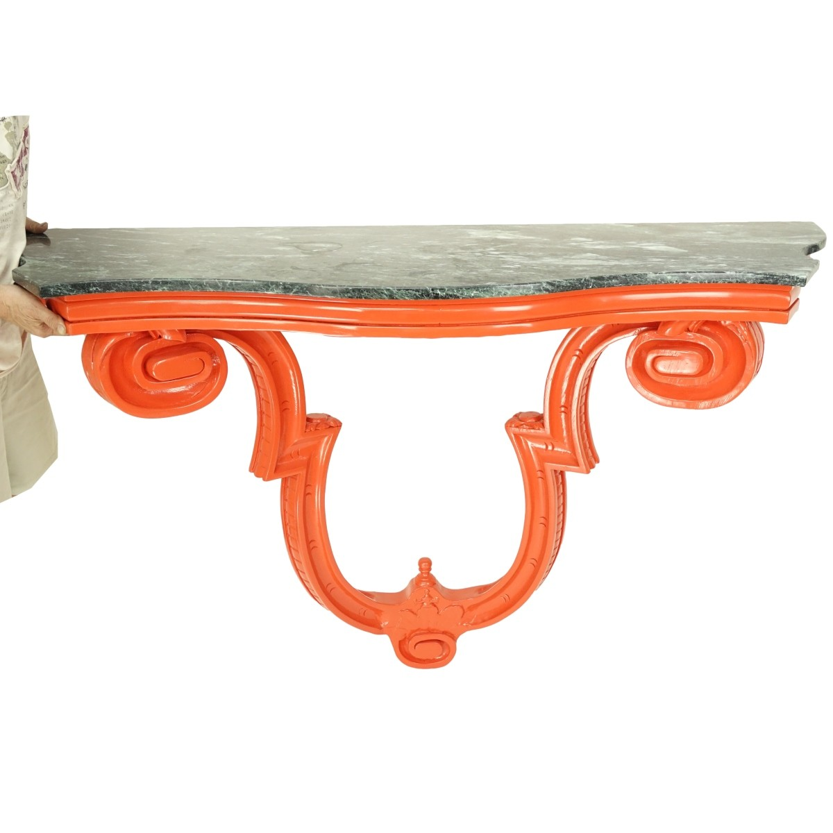 Marble Top Wall Console