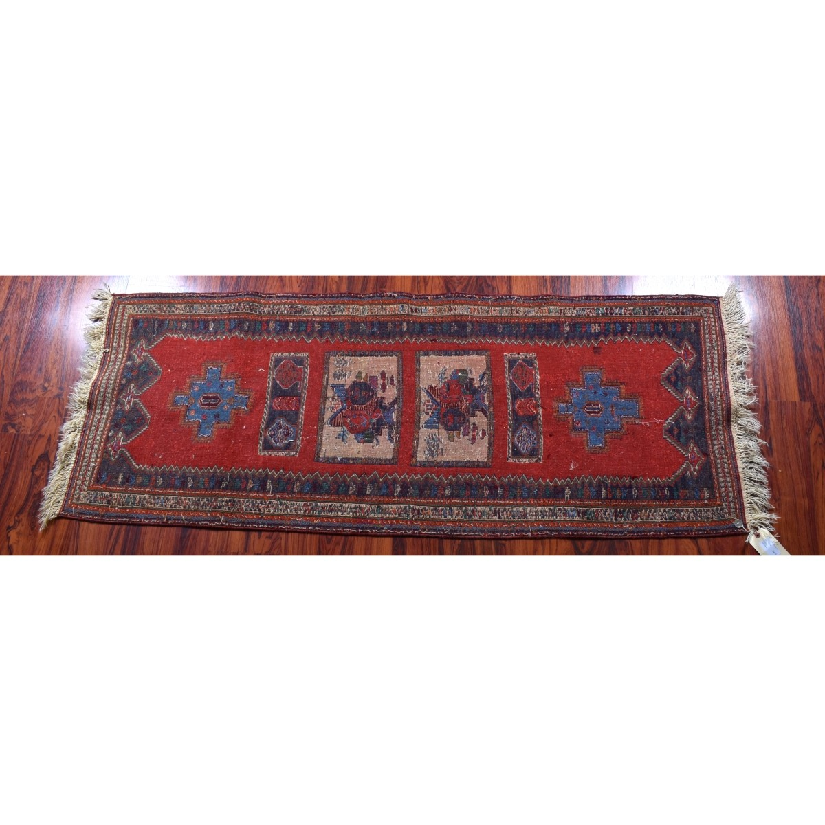 Two Afghan Tribal Rugs