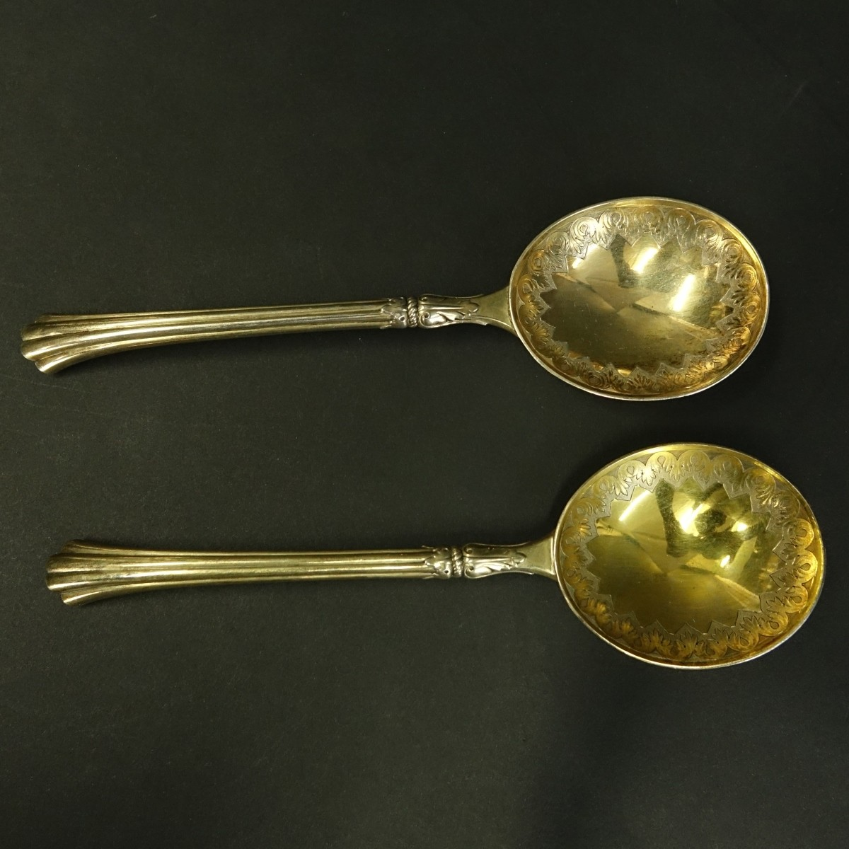 Circa 1883 London Sterling Spoons