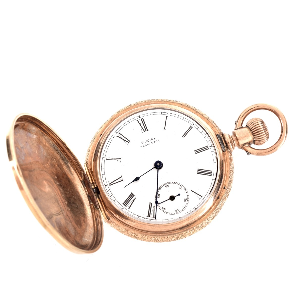 Antique Waltham 14K Gold Pocket Watch