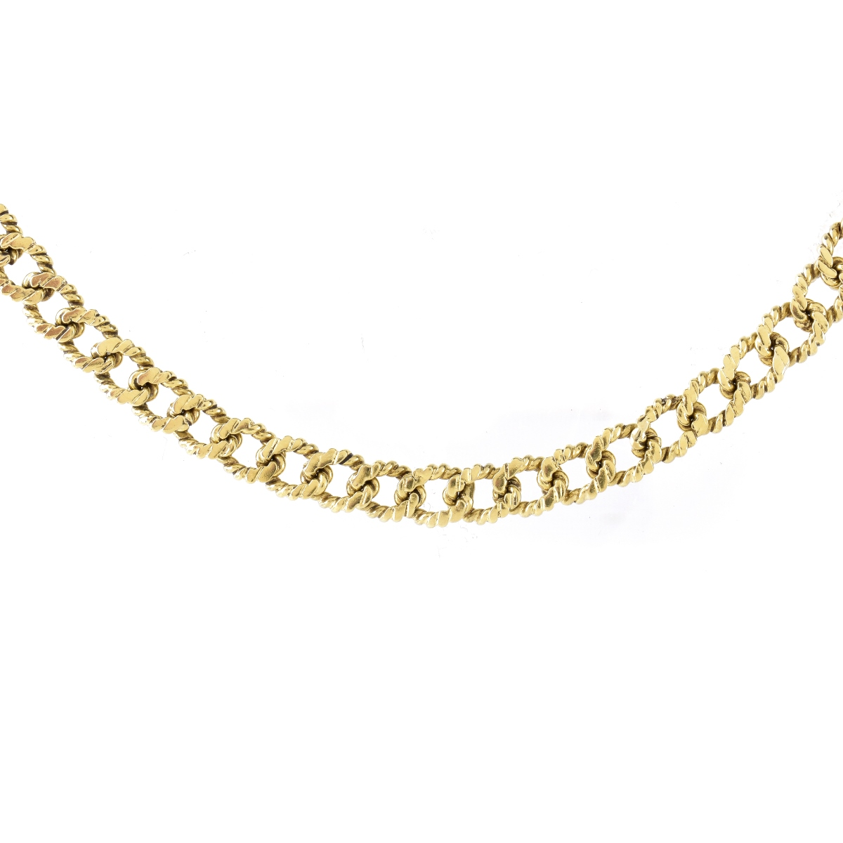 "25"" Long 14K Gold Necklace"