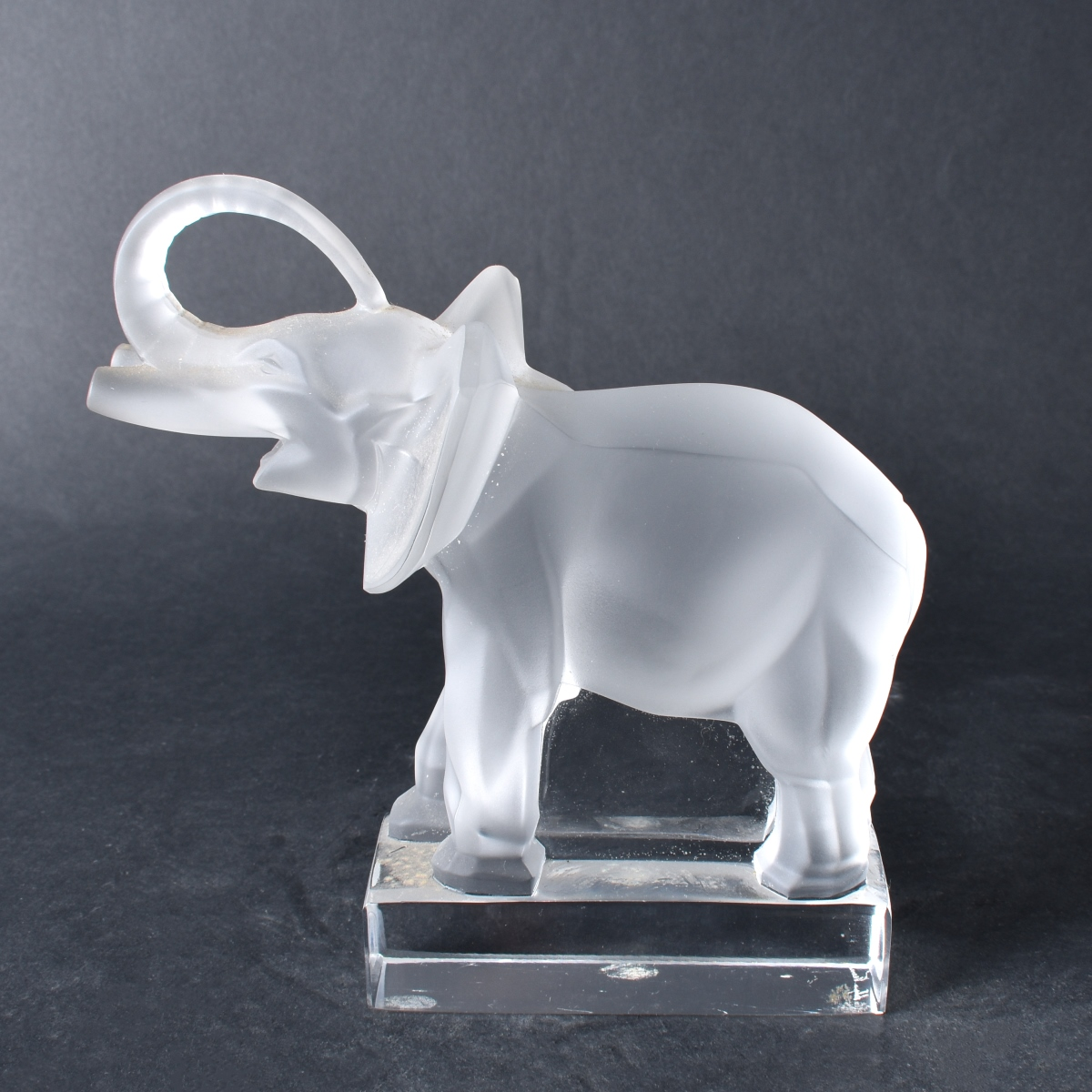 Lalique Elephant Paperweight