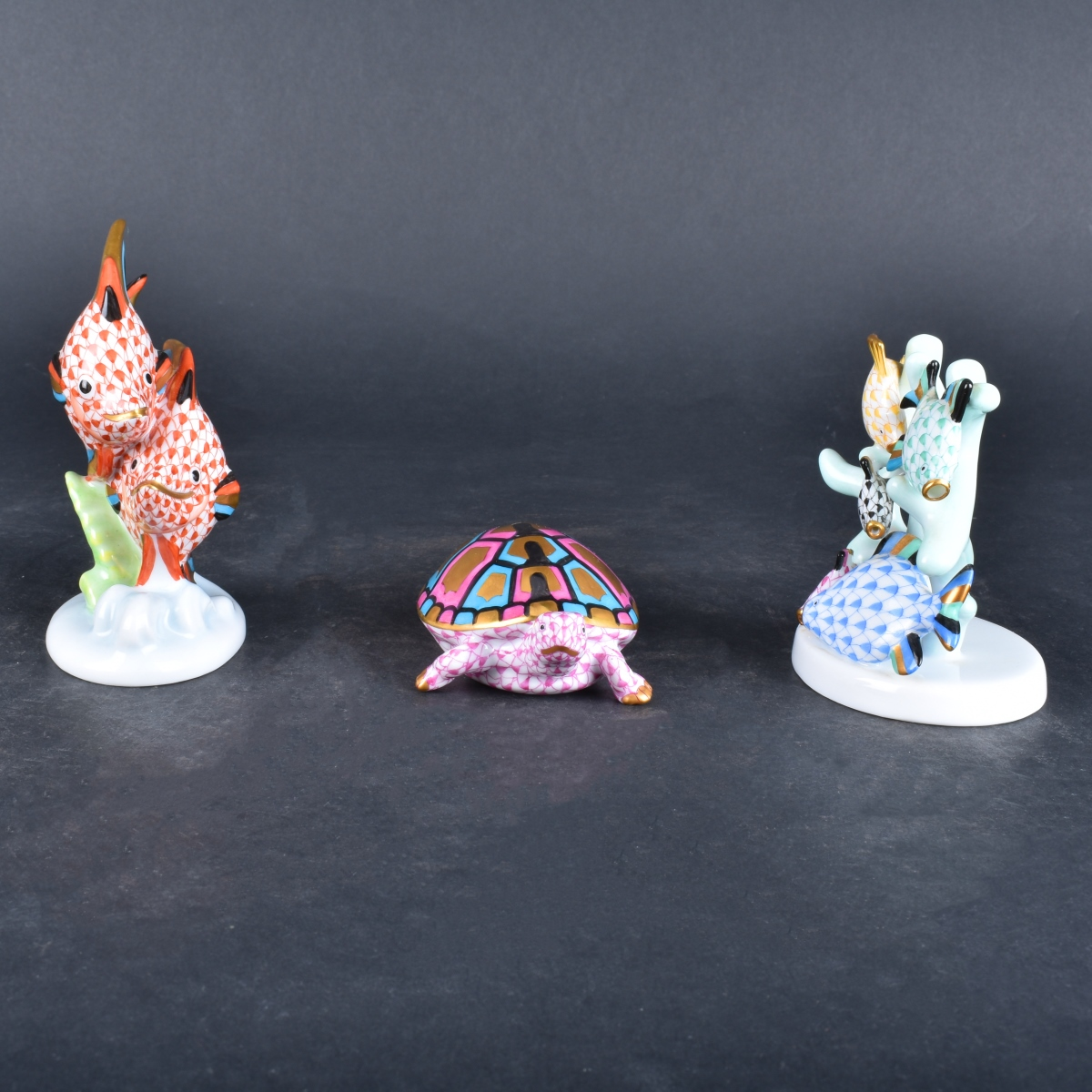 Three Herend Figurines