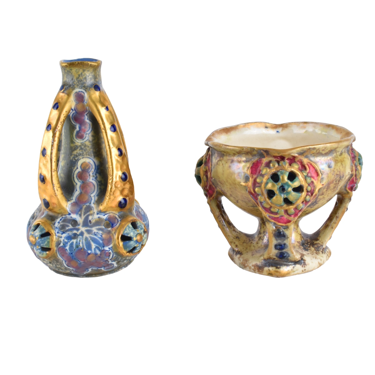 Two (2) Amphora Vases