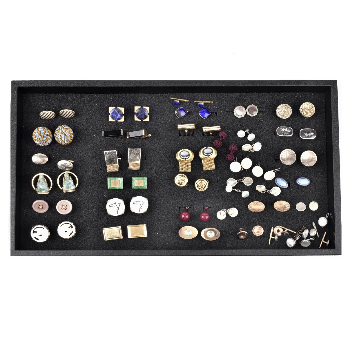 Large Collection of Vintage Cufflinks