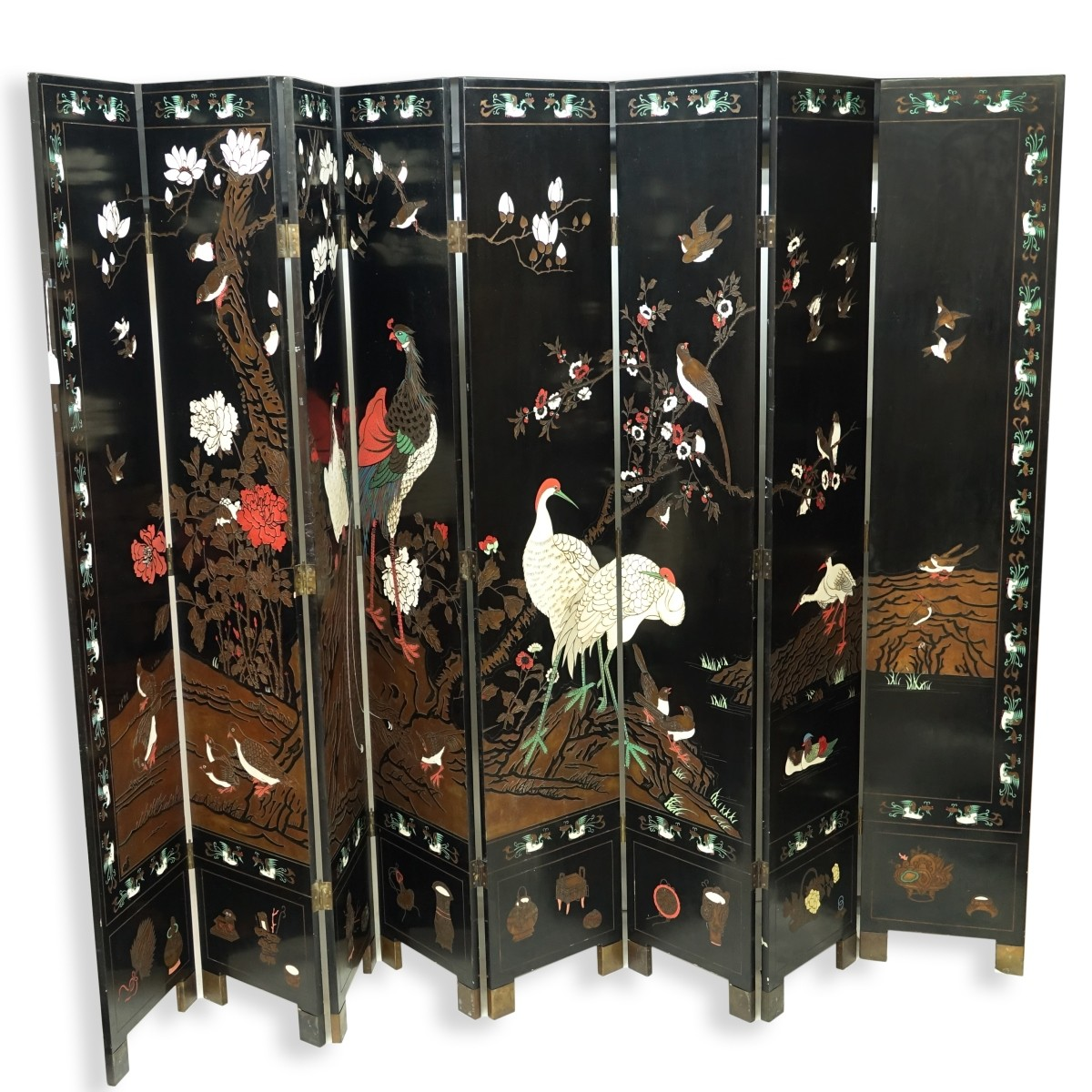 Chinese 8 Panel Screen