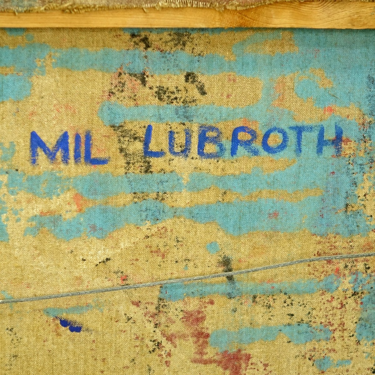 Mil Lubroth Oil on Canvas