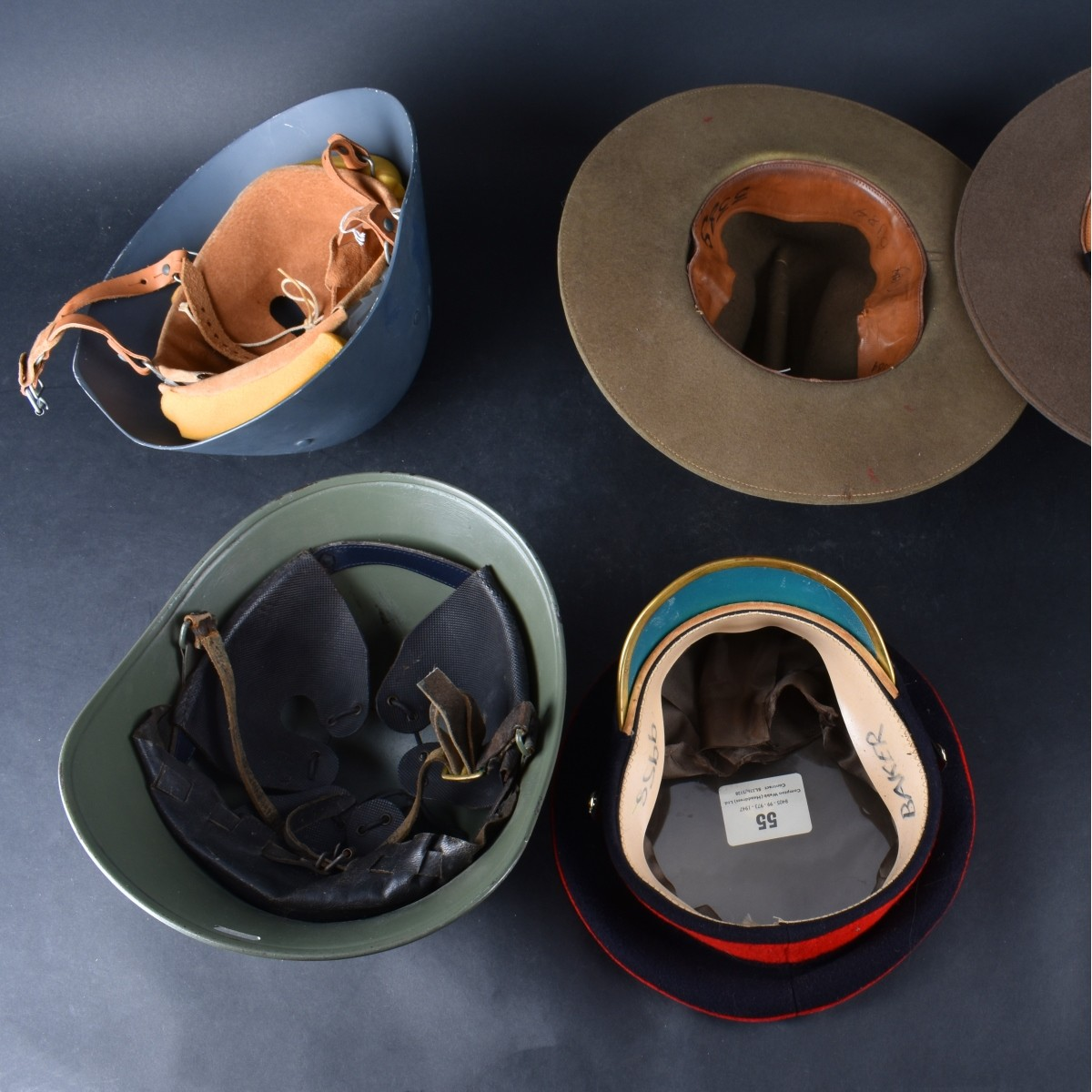 European Military Hats and Helmets