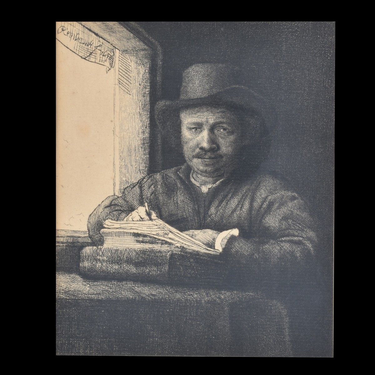 Three Rembrandt Prints
