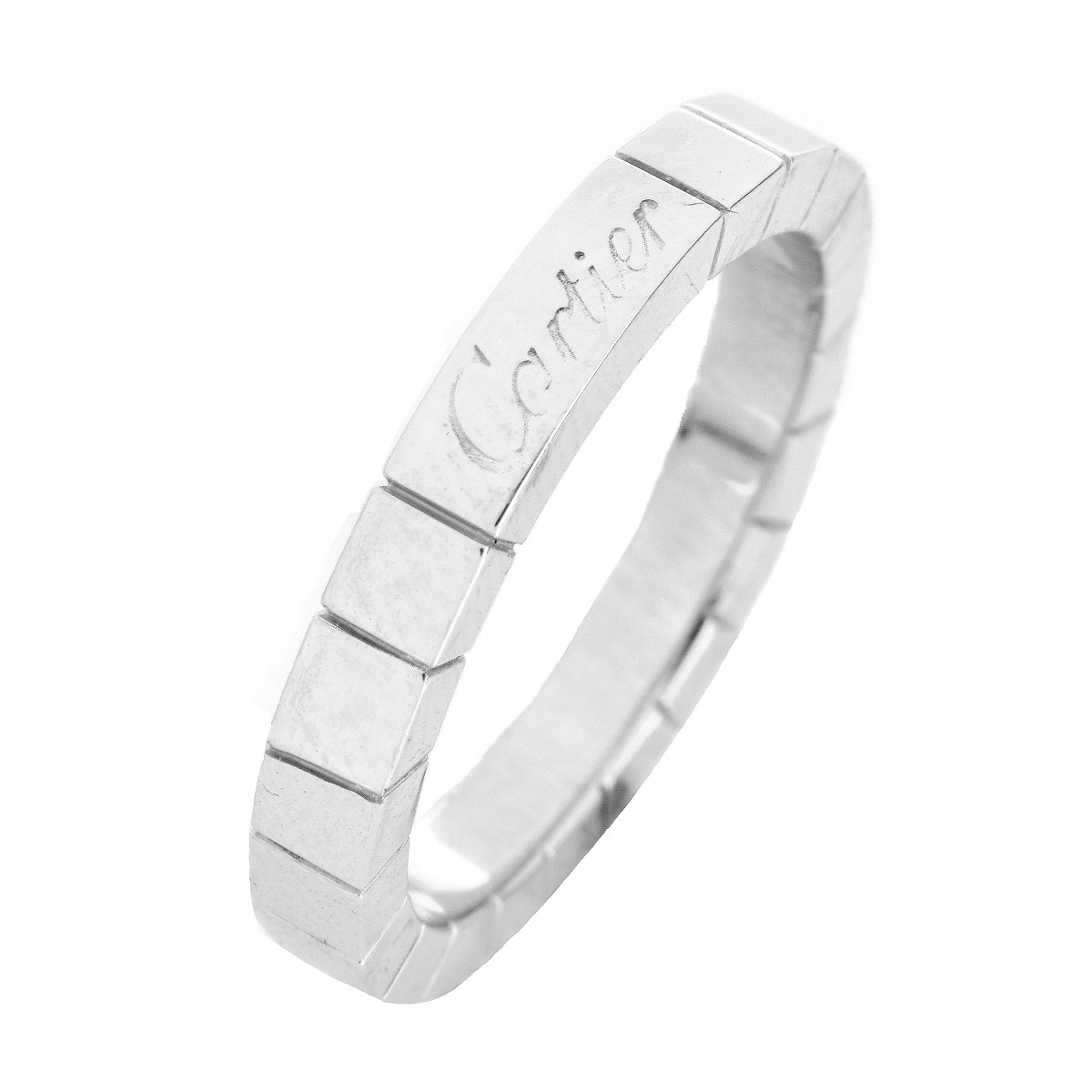 Cartier 18K White Gold Laniere Ring