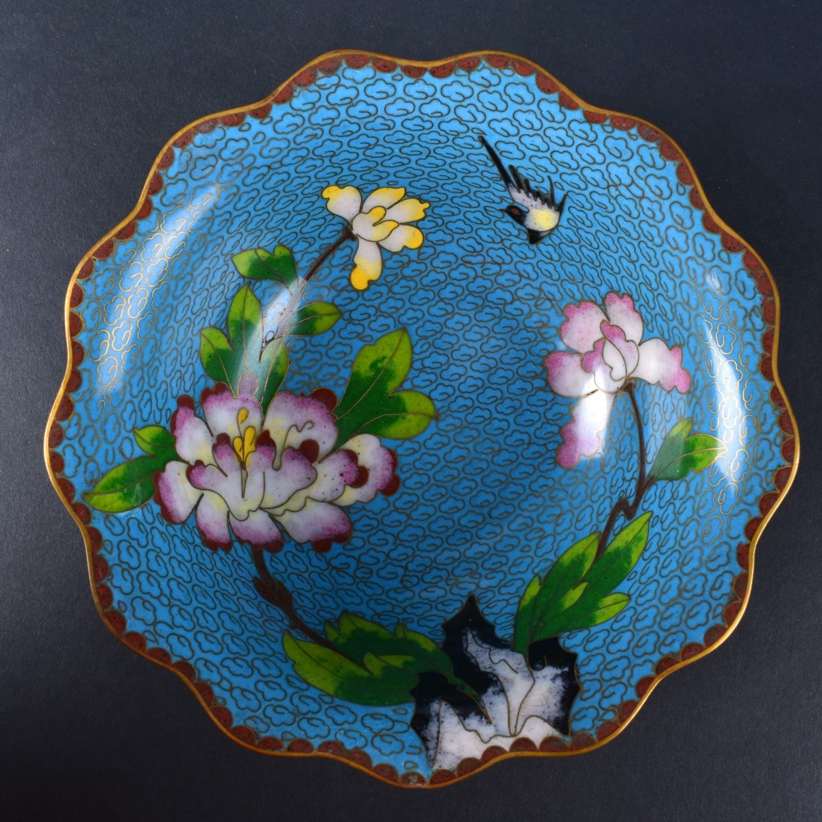 Chinese Cloisonne Tableware
