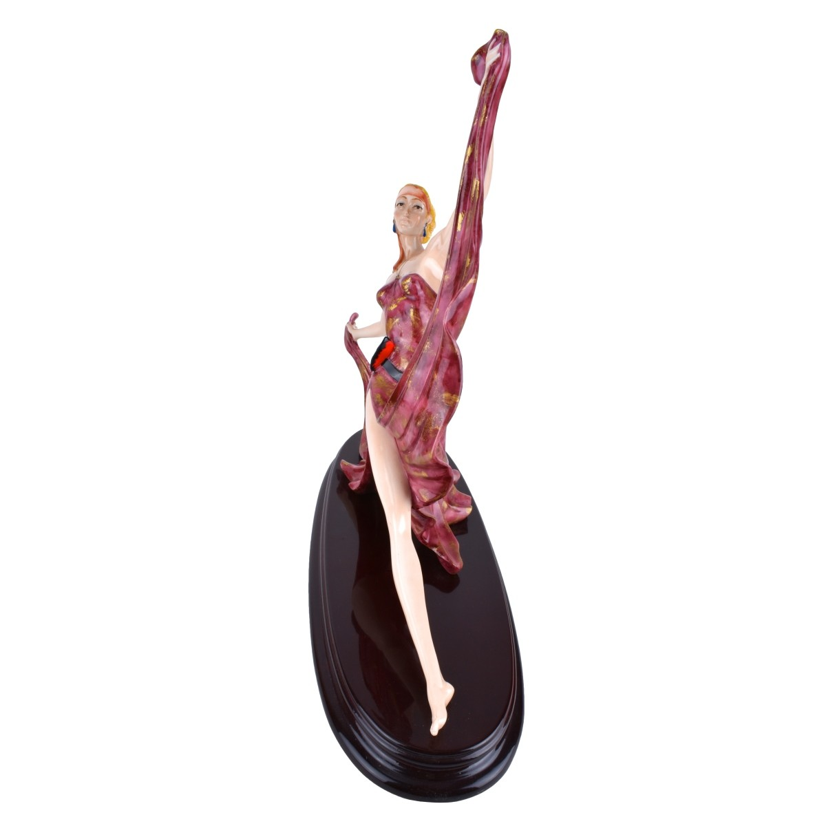 A. Santini Ballerina Sculpture Mounted on Base