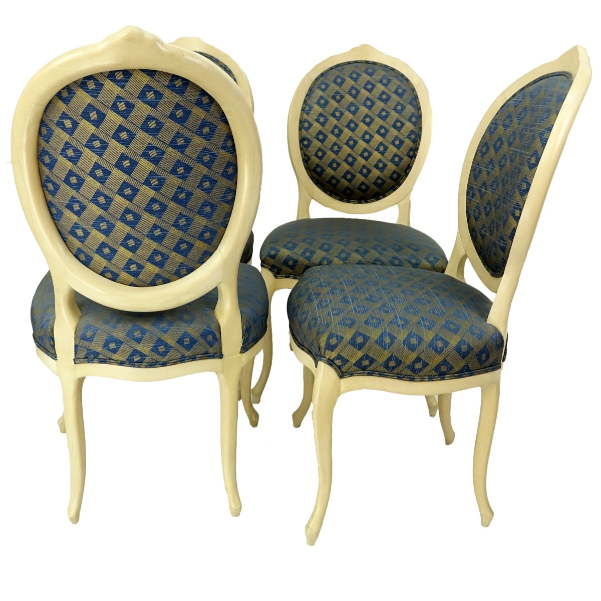 Four (4)Louis XV style Dining Chairs