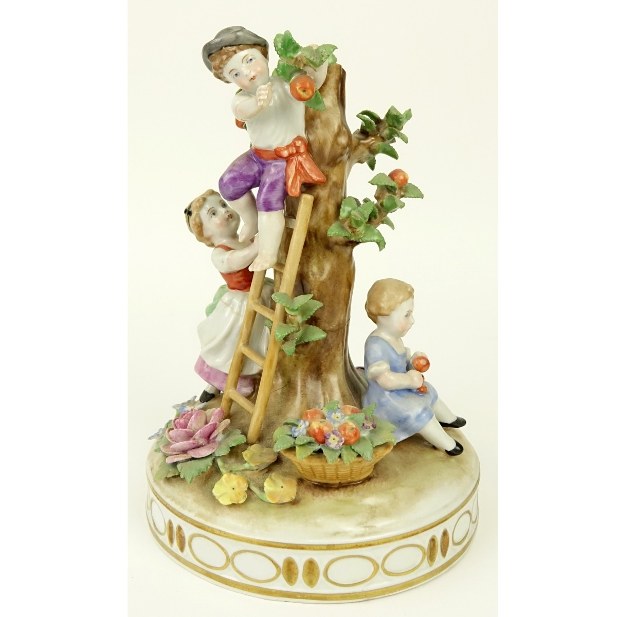 on Schierholz German Porcelain Centerpiece